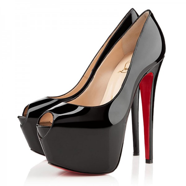 Christian Louboutin Highness 160mm Pumps Black
