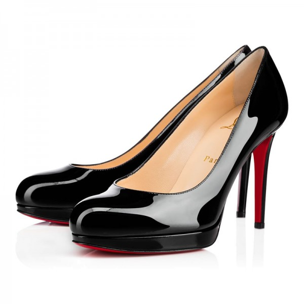 Christian Louboutin New Simple Pump 100mm Patent Black