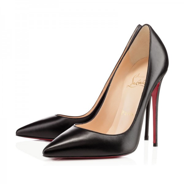 Christian Louboutin So Kate 120mm Leather Black