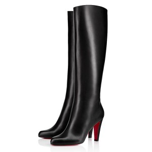 Christian Louboutin Marmara Botta 85mm Leather Boots Black