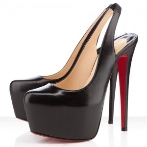 Christian Louboutin Dafsling 160mm Slingbacks Black
