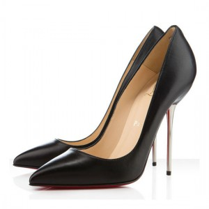 Christian Louboutin Lipsinka 120mm Pigalle Leather Pumps Black
