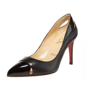 Christian Louboutin Pigalle Cutout 90mm Pumps Black