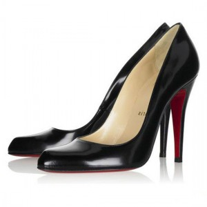 Christian Louboutin Pigalle Maudissima 100mm Patent Black