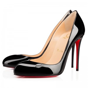Christian Louboutin Breche 100mm Patent Black
