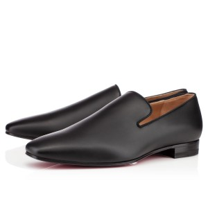Men's Christian Louboutin Dandy Loafers Black