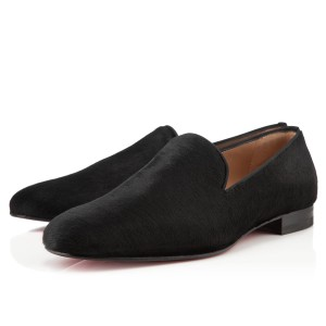 Men's Christian Louboutin Henri Loafers Black