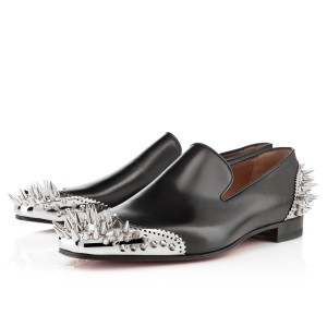Men's Christian Louboutin Ironito Loafers Black