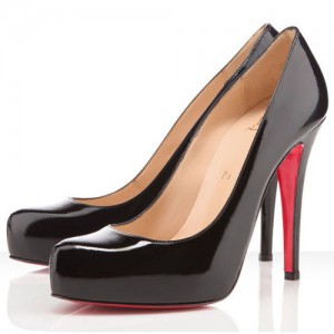 Christian Louboutin Rolando 120mm Patent Pumps Black