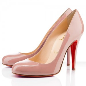 Christian Louboutin Ron Ron 100mm Pumps Nude