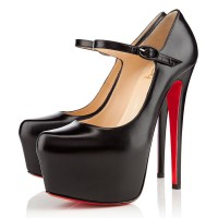 Christian Louboutin Lady Daffodile 160mm Mary Jane Black