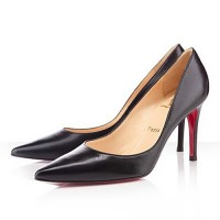 Christian Louboutin New Decoltissimo 85mm Leather Pumps Black