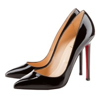 Christian Louboutin Pigalle 120mm Pointed Toe Pumps Black