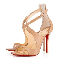 Christian Louboutin Malefissima 100mm Sandals Nude