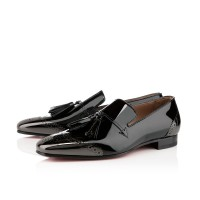 Men's Christian Louboutin James Flat Black