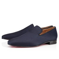 Men's Christian Louboutin Dandy Loafers Navy
