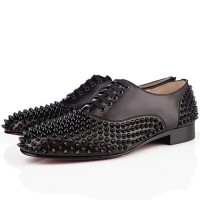 Men's Christian Louboutin Freddy Loafers Black