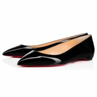 Christian Louboutin Pigalle Ballerina Flat Patent