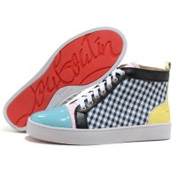 Men's Christian Louboutin Rantus Orlato High Top Sneakers