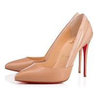 Christian Louboutin Super Pump 100mm Leather Nude