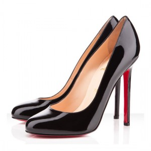 Christian Louboutin Pigalle 120mm Patent Pumps Black