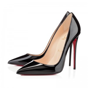 Christian Louboutin So Kate 120mm Patent Black