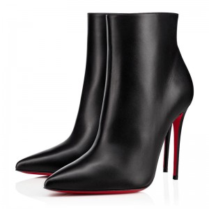 Christian Louboutin So Kate Booty 100mm Leather Black