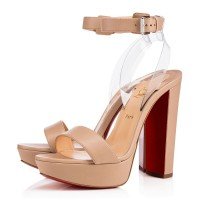 Christian Louboutin Cherrysandal 140mm Sandals Matilda Nude 2