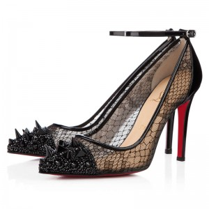 Christian Louboutin Picks and Co 120mm Pumps Black