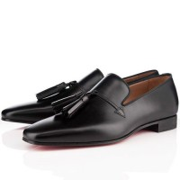 Men's Christian Louboutin Daddy Loafers Black