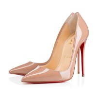 Christian Louboutin So Kate 120mm Patent Nude